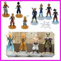 Dragon Ball Z Figuras De Accion Transparentes Por 4 Unidades