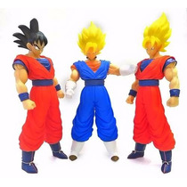 Figura Dragon Ball Z Goku Super Siyan Vegetto Son Goku 36cm