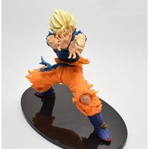 Muñeco Goku Ssj Dragon Ball Z Kamehameha Excelentes Detalles