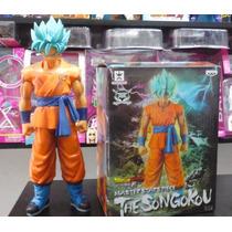 Muñeco Figura Coleccion Goku Fase Dios Dragon Ball Z - 27 Cm