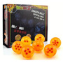 Esferas Dragon Ball Z Caja Con 7 Esferas 4,5 Cm - Original.