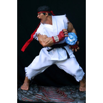 Street Fighter Ryu 1:2 Half Size Estatua 1/2 Escala 1 En 2