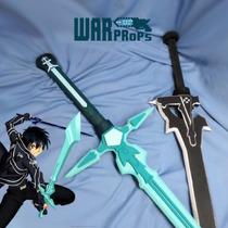 Kirito Sword Art Online Sao Elucidator Dark Repulser Replica