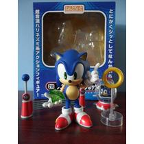 Sonic The Hedgehog Nendoroid Figura Sega + Accesorios