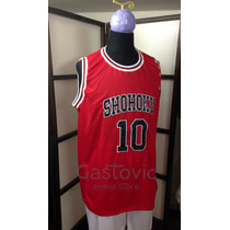 Slam Dunk Camiseta De Basket Shohoku Bordadas S M L Xl