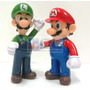 Muñecos Super Mario Bros Luigi Articulado Nintendo Retro Pvc
