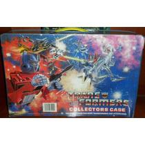 Transformers G1 Original Caja Porta Muñecos Collector Case