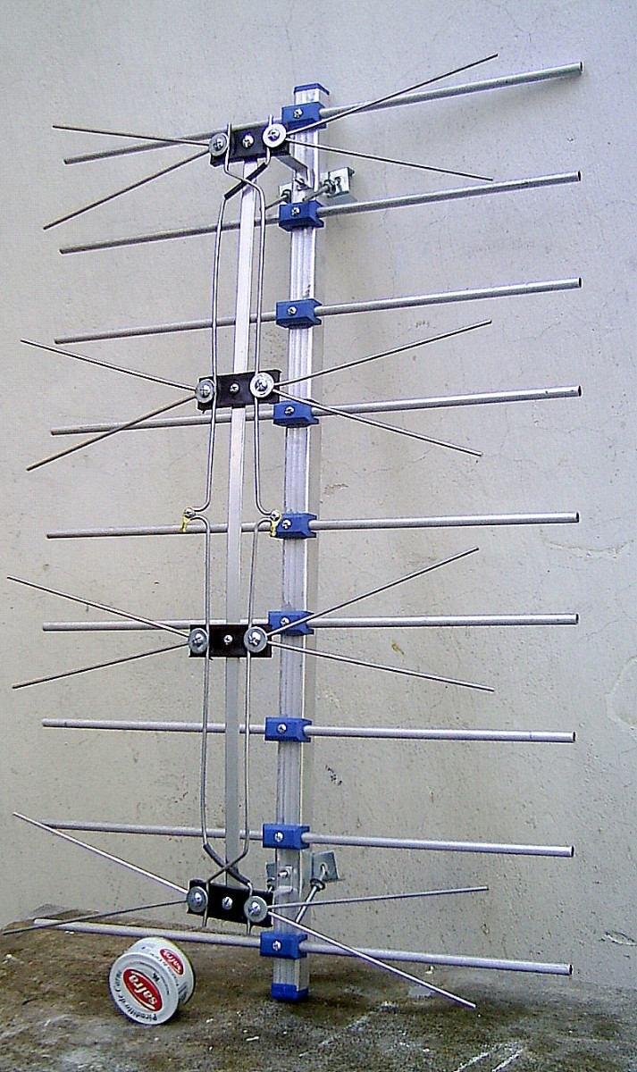 Consulta canales de aire y de la tda taringa - Antena tdt interior casera ...