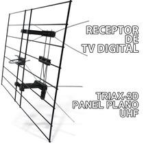 Antena Para Tda Televisión Digital 2 Dipolos Uhf
