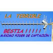 Antena Tda Tdt La Más Poderosa Yagi Digital Tda 19 Elem Uhf