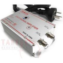 Amplificador De Antena Catv 30 Db 2 Salidas C/control Gananc