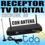 Receptor Tv Digital Tda Con Antena Interior El Mejor Equipo!