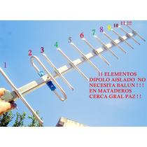 11 Elementos Tda Digital Full Hd 3 D Dipolo Aislado Publica