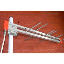 Antena Tda Tv Digital Uhf + Cable X 10mts Con Conectores