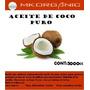 Aceite De Coco 5 Lts Puro, Uso Comestico Y Gastronómico.