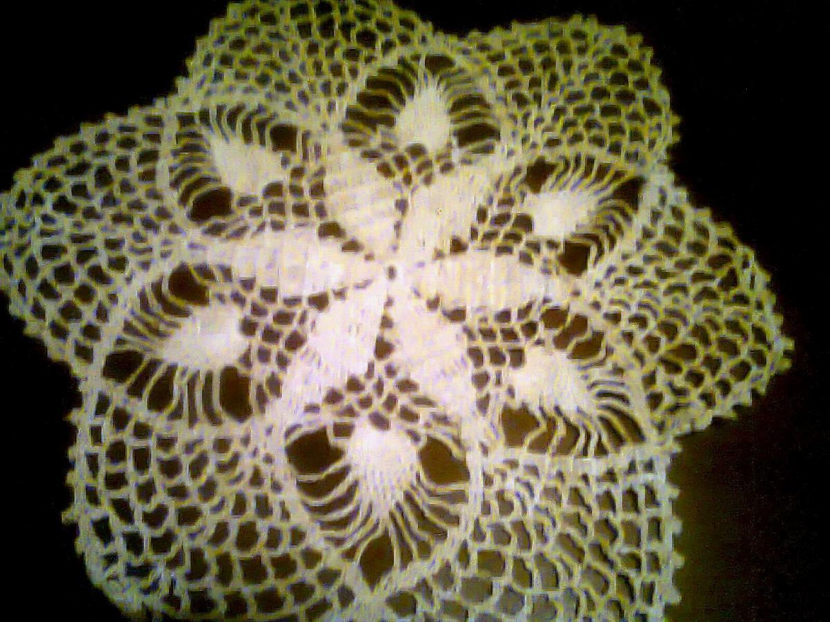 Antiguas Carpetas Tejidas A Crochet - $ 300,00 en MercadoLibre