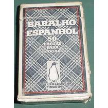 Antiguas Cartas Naipes Barajas Brasil España Usadas Mazo