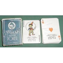 Antiguo Mazo Cartas Poker Velcap Argentina Con Detalle