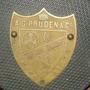 Antigua Placa Bronce A. G. Pruden & Co. Exclavo Blanco (---)