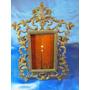 El Arcon Antiguo Portaretrato De Metal Labrado 28cm 16063