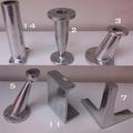 Patas Aluminio Para Muebles Sofa Mesas Bajas Sillones N2,3,5