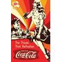 Carteles Antiguo De Chapa Gruesa 60x40cm Coca Cola Dr-240
