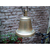Antigua Campana De Bronce Tamaño Mediano