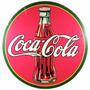 Carteles Antiguos De Chapa Gruesa 50cm Coca Cola Dr-002