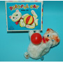 Antiguo Gato A Cuerda Hecho En Japon 1960 Playful Cat