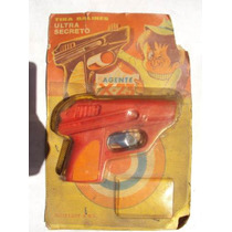Pistola Tira Balines Agente Ultra Secreto Roiplast Antiguo