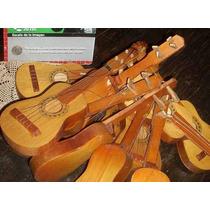 Antigua Guitarra De Juguete Madera 31cm 60 Sellada (4539)