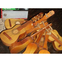 Antigua 10 Guitarra Juguete Madera 31cm 1960 Sellada (4539)