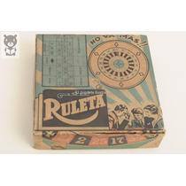 Ruleta No Va Mas! Oma Dec 50 Mib Juego Antiguo Juguete Lata