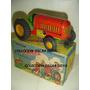 Tractor Matarazzo Juguete Antiguo Con Caja