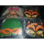 Caretas Mascaras Antiguas Cotillon Payaso Gato Deca 60 70