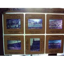 Diapositivas Antiguo Rugby Pumas Gazelles Deporte Retro