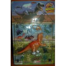 Dinosaurios Guerreros Kit Completo Soldados En Blister