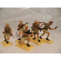 Soldados Ingleses X6 Segunda Guerra Mundial Lote 7 Esc 1:32