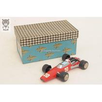 Auto Formula 1 Plastico Nugil Ferrari 312 Juguete Antiguo
