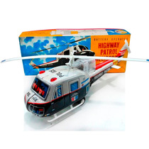 Helicoptero A Pila 1960/70 Nuevo Funciona Juguetes Lloret