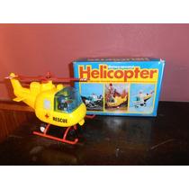 Helicoptero Ambulancia A Pila Maxwell Decada Del 70