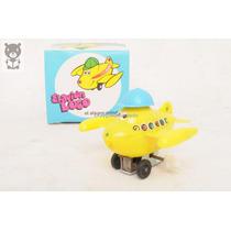 Avion Loco Doll Toys A Cuerda Plastico Caja Juguete Antiguo