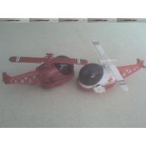 Helicoptero Plastico A Cuerda .retro De 1978.nuevo