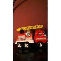 Antiguo Gorgo Camion Bomberos Chapa 18,5 Cm Años 70