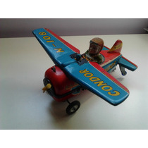 Antiguo Juguete, Avión De Chapa: Condor N-108 - Modern Toys