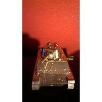 Antiguo Tanque Cuerda 8 Cm Años 70- Se Desplaza Hasta 10 M