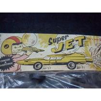 Antiguo Auto Juguete En Blister Cerrado Super Jet Ep Hijitus