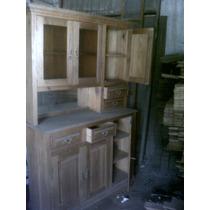 Mueble De Pinotea Antiguo