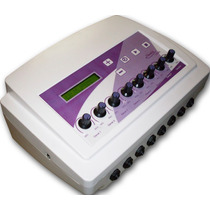 Electroestimulador Ondas Rusas Cuadradas Tens 16 Electrodos