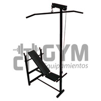 Banco De Pecho Regulable Con Dorsalera Ct Gym